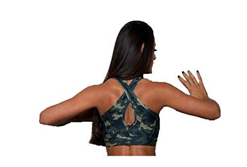 Excess Sujetador Deportivo para Mujer Shock Absorber Top Push Up Fitness Yoga...