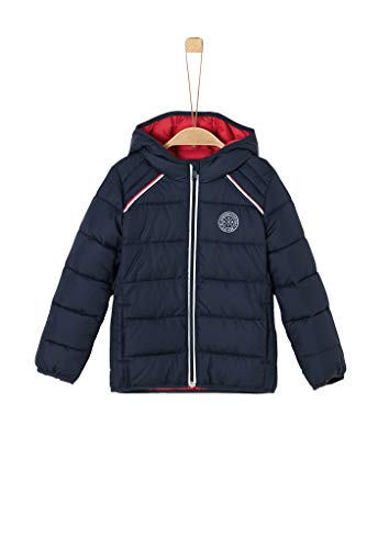 s.Oliver Jungen Steppjacke mit Tape-Detail dark blue 122