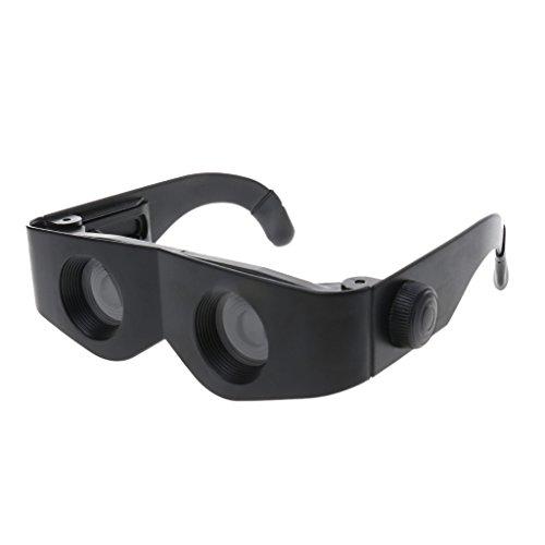 Generic Gafas de Telescopio de Lentes con Lupa Prismáticos de Pesca