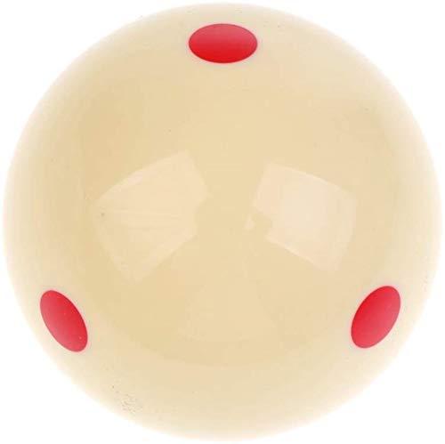 Aokshen 1 Stück Trainingsball für Billardqueue, 6-Punkt, 57.2 mm