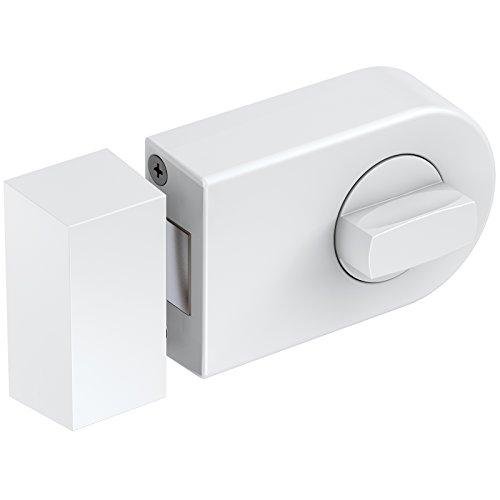 Basi® Kastenzusatzschloss KS500 Tür-Zusatzschloss verschiedene Farben Sicherheitsschloss R1305-0201, Weiß