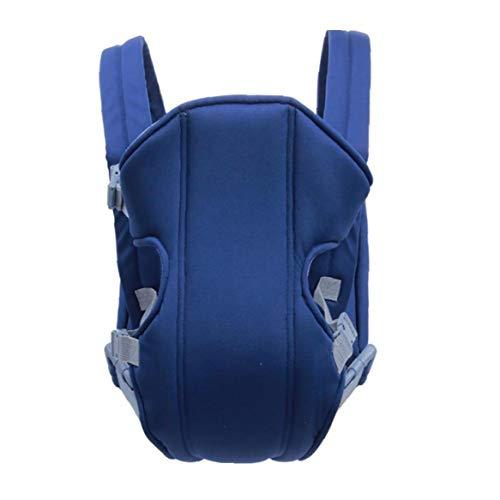 Transpirable Soft Carrier Bebés Delante Detrás Del Portador Del Abrigo De La Honda De Infantes Ergonómico Mochila Azul
