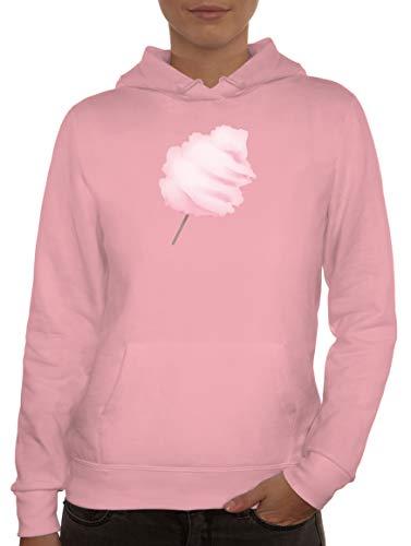 Disfraz de algodn de azcar para mujer, con capucha, para carnaval y carnaval Rosa. L