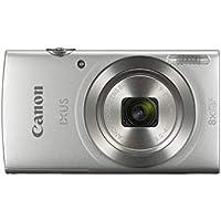 """Canon IXUS 185 - Cámara compacta de 20 MP (pantalla de 2.7"""", Digic 4+, 16x ZoomPlus, vídeo HD, modo Smart Auto, Date Button, Easy Auto) plata"""