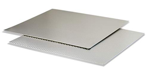 "Range Kleen Silver Counter/Table Protector Mat-17"" x 20""-2 Pack"