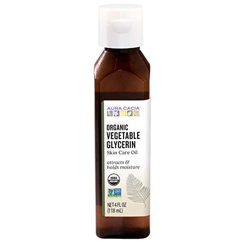 Aura Cacia Certified Organic Vegetable Glycerin Skin Care Oil   4 fl. oz.