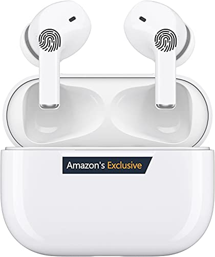 Auriculares Inalámbricos,Auriculares Bluetooth Deportivos 5.0 con Micrófono,Auriculares Bluetooth inalámbricos con Mini Caja de Carga,IPX5 Impermeable,Reproducción 24 Horas,para iOS/Samsung/Android