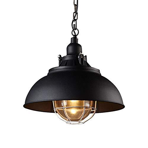 Loft vintage colgante luces cabeza simple americano rural araña industrial retro lámparas colgantes de hierro tienda pub bar cafe colgante lámpara iluminación accesorios minas lámparas de suspensión