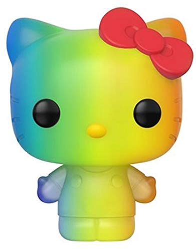 Funko- Pop Sanrio 2020-Hello Pride 2020 Hello Kitty(RNBW) Figura Coleccionable, Multicolor (49843)
