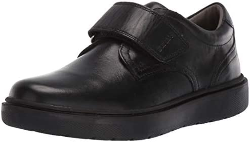 Geox Riddock Boy 4 Hook and Loop Dress Sneaker Shoe School Uniform Black Oxford 3 5 Big Kid product image