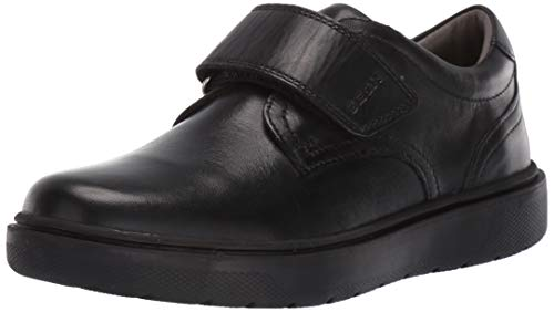 Geox J RIDDOCK Boy G, School Uniform Shoe Niños, Negro (Black C9999), 40 EU