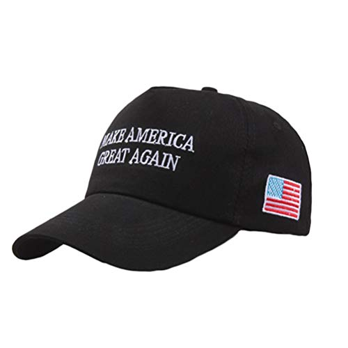 American Flag Baseball Cap Unisex Campaign Cap Make America Great Again - Donald Trump Sun Visor Hats Outdoor Baseballmütze Horse Pony Baseball Cap einstellbar