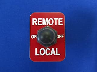 Remote Switch Lincoln Welder Sa-200 Sa 250 Toggle Weather Boot & Legend Plate
