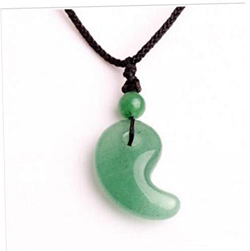 Natural De Cristal Colgante Pura Dongling Jade Tai Yin Y Yang Presente Día De La Media Pescado Hebilla De Spike Colgante De San Valentín Para Los Amantes