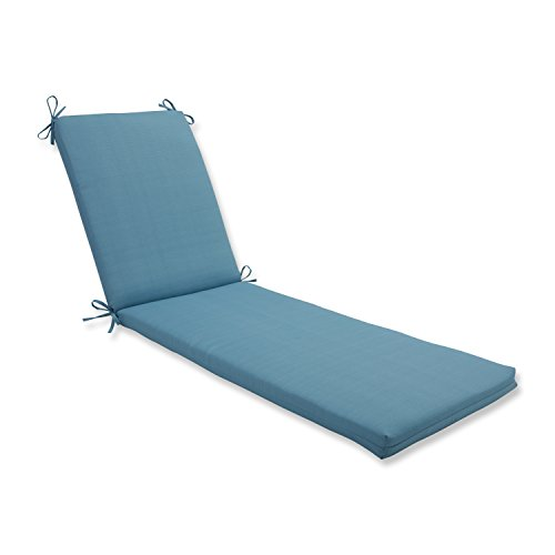 Pillow Perfect 613383 Outdoor/Indoor Forsyth Pool Chaise Lounge Cushion, 80' x 23', Turquoise