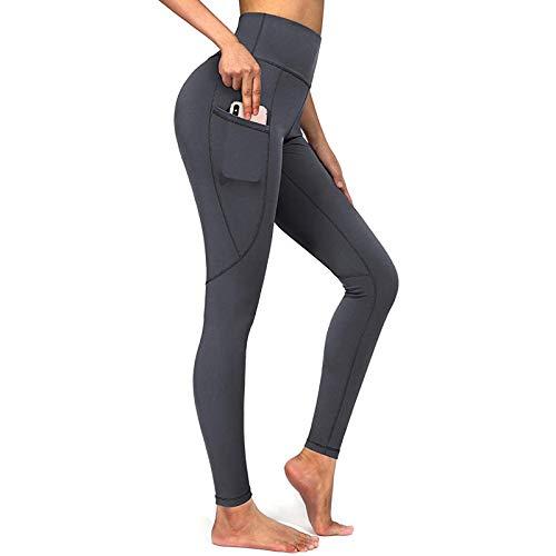 Damen Leggings Butt Lifting Hohe Taille Sport Leggings Honeycomb Bauchkontrolle Yogahosen Angenehm Weiche Elastisch Jogginghose fur Workout Fitness
