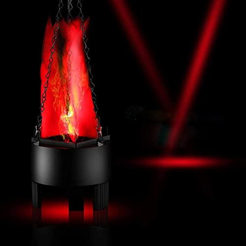 Luz de llama LED dinámica efecto de fuego luz colgante llama artificial fuego falso fuego fuego fuego fuego fuego fuego fuego sin base de calor luz centro para decoración festival fiesta bar Navidad