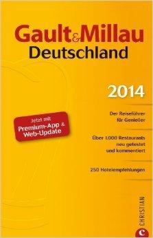 Gault&Millau Deutschland 2014: Der Reiseführer für Genießer. 1000 Restaurants aktuell bewertet, 250 Hotelempfehlungen und 400 Farbfotos.: Jetzt mit Premium-App und Web-Update ( 18. November 2013 )