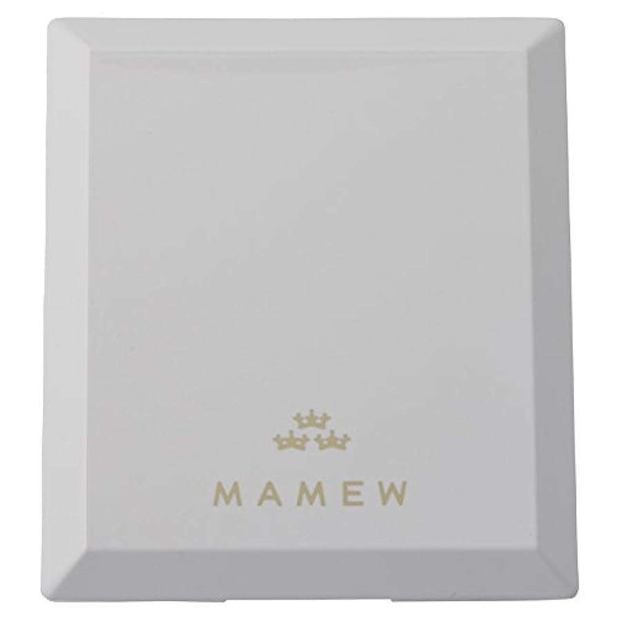 海藻ラフ睡眠付属品MAMEW(マミュ) カラーコレクションケース-メイクパレッド 鏡付き