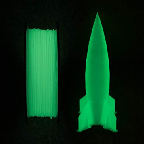 GIANTARM PLA Filamento 1,75 mm verde luminoso, filamento para impresora 3D, 1 kg Spool