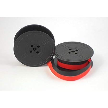 Ruban encreur /à double bobine machine /à /écrire Brother Deluxe 900/800T 1300/1350/1510 noir