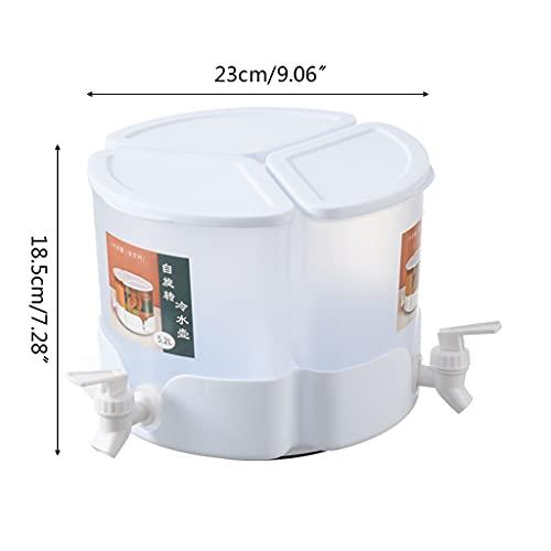 Refrigerador Hervidor Frío, Refrigerador con Grifo, Dispensador de Bebidas, 3 Hervidores, 3 Grifos