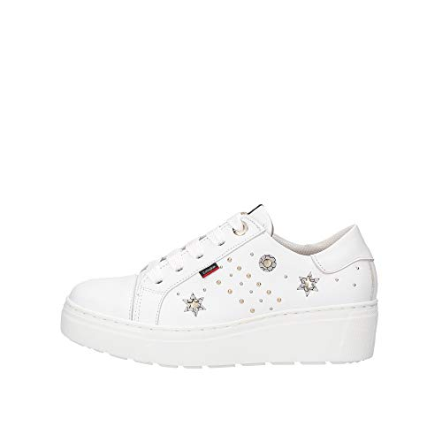 Callaghan Chaussures Baskets 14920 Bianco