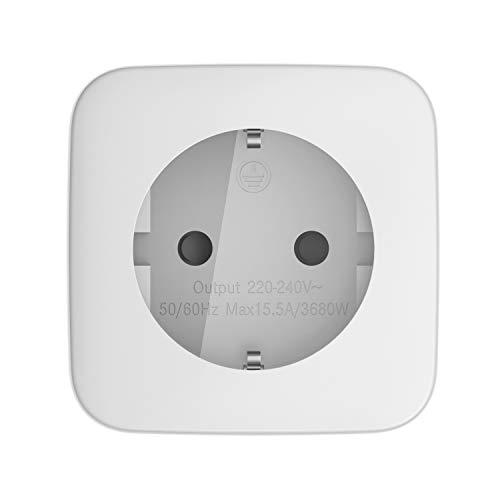 Telekom Smarthome Zwischenstecker innen - Über Magenta Smarthome App fernbedienbar - Funk-Schalt- und Messsteckdose - weiß