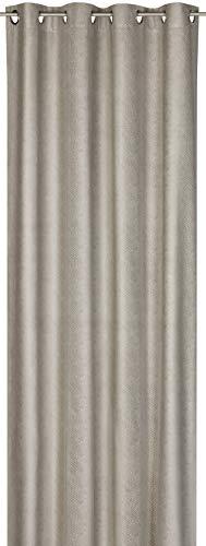 Elbersdrucke FD Python 07 Fertigdekoration, 100% Polyester, grau, 255x140cm