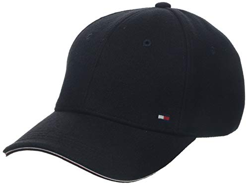 Tommy Hilfiger Herren Elevated Corporate Baseball Cap, Schwarz (Black Bds), One Size (Herstellergröße: OS)