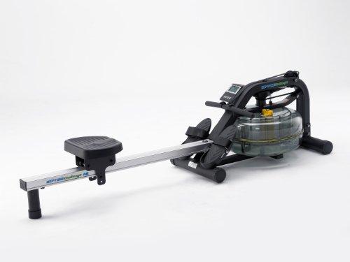 Fluid Rower, Vogatore Neptune Rower AR, Nero (Black)