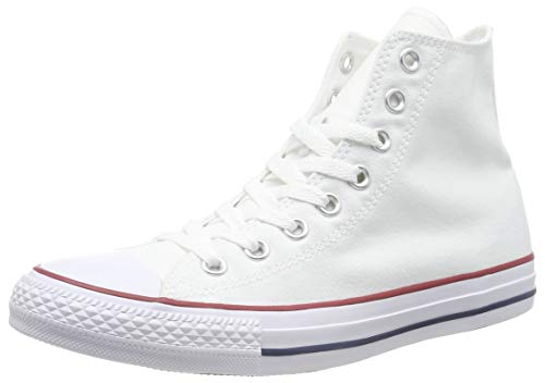 Converse Unisex-Erwachsene Chuck Taylor All Star Season Hi Sneaker, Weiß (Optical White), 44.5 EU