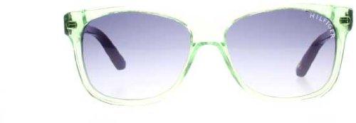 Tommy Hilfiger TH 1073/S DG W1Z 50 Gafas de sol, Verde (Green Violet/Grey), Unisex Niños