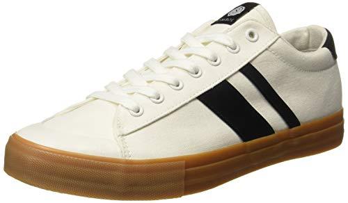 Amazon Brand - Symbol Men's White Sneakers-9 UK/India (43 EU) (AZ-GI-368C)