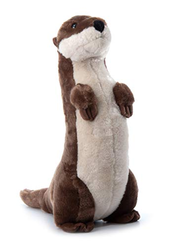 The Petting Zoo, River Otter Stuffed Animal, Gifts for Kids, Standing River Otter Plush Toy 20 inches
