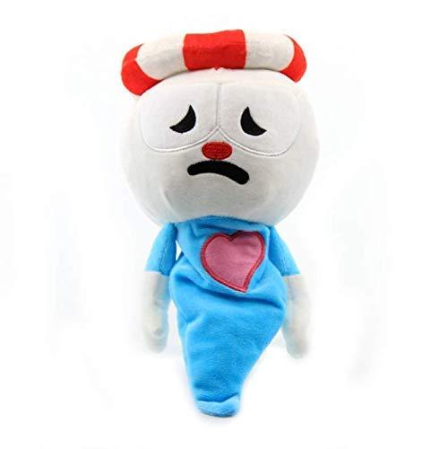 Dirgee Cuphead plüschpuppe Spielzeug Mugman The Chalice weiche plüsch gefüllt Spielzeug niedliche Cartoon Puppe für Kind Kinder 23cm