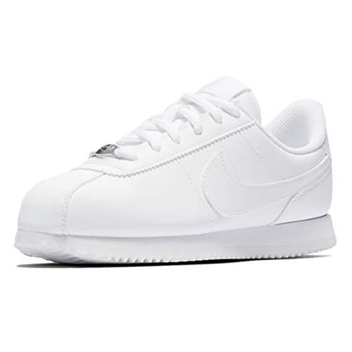 Nike Cortez Basic SL (GS), Scarpe da Running Uomo, Bianco (White/White/White 100), 38.5 EU
