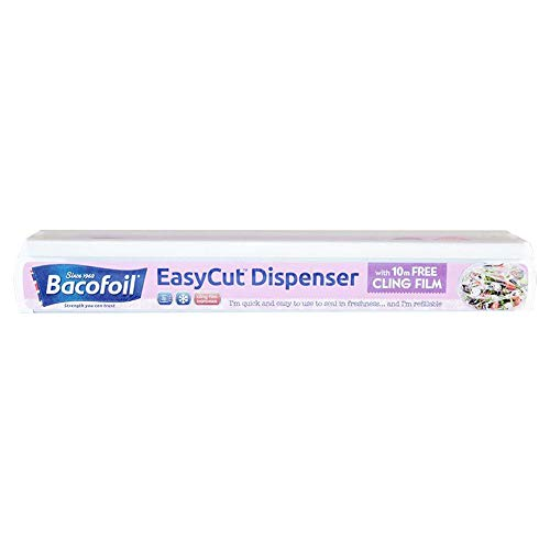 Bacofoil Easy Cut 10m Cling Film and Dispenser