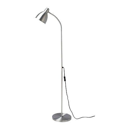 IKEA LERSTA Stand-/Leseleuchte aus Aluminium; (131cm)