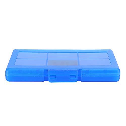 Voluxe Soporte para Tarjetas de Juego Fácil de almacenar Estuche de Cartucho de Larga Vida útil Cómodo de Usar Tarjetas de Juego para Switch(Blue)