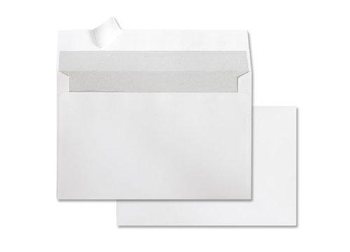 Deutsche Post 25 Umschläge C6 weiß haftklebend ohne Fenster