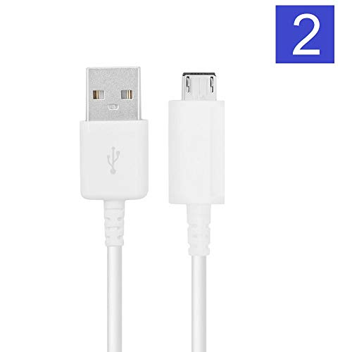 Samsung USB Cable OEM EP-DG925UWE USB Data Sync Charging Cables for Galaxy S6/S6 Edge/S6 Edge+/S7/S7 Edge/Note 4/5/Edge - Non Retail Packaging- White