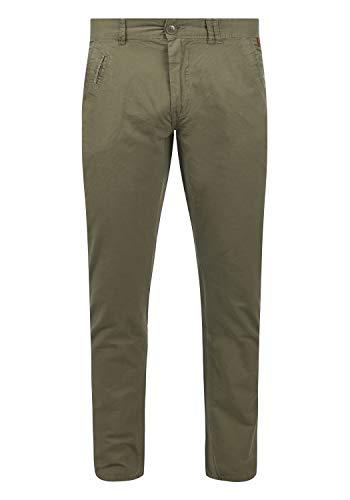 Blend Tromp Herren Chino Hose Stoffhose Aus 100% Baumwolle Regular Fit, Größe:W31/34, Farbe:Dusty Green (70595)