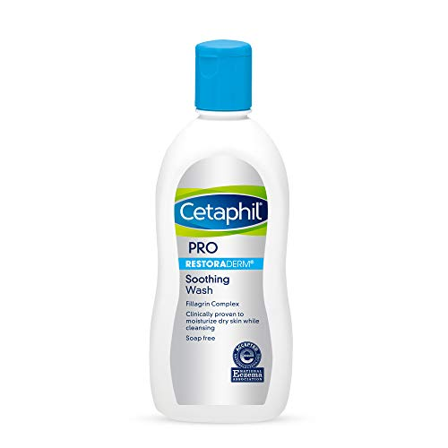 Cetaphil Pro Soothing Wash, 10 Ounce, Packaging May Vary, (Pack of 3)