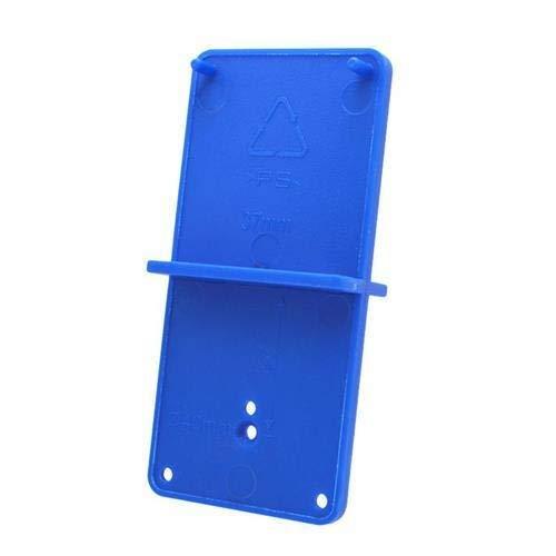 JCMY DIY-Werkzeuge 35 / 40mm Loch Locator Schränke Holzbearbeitungswerkzeuge Tür zur Holzschlags Scharnier Bohrloch Opener Bohrer Führungsloch Werkzeug Bohrmaschine Für Dekoration (Color : Blue)