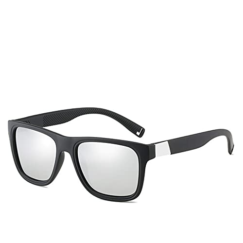 LUOXUEFEI Gafas De Sol Gafas De Sol Cuadradas Negro Azul Hombres Mujeres Gafas De Conducción Gafas De Sol Masculinas