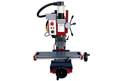 PAULIMOT Bohr-/Fräsmaschine SIEG SX2L mit bürstenlosem Motor und Z-Säule neigbar