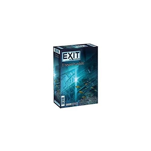 11. Exit: El tesoro hundido - Juego de escape room de un solo uso