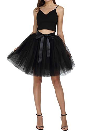Feoya - Falda de tutú para mujer