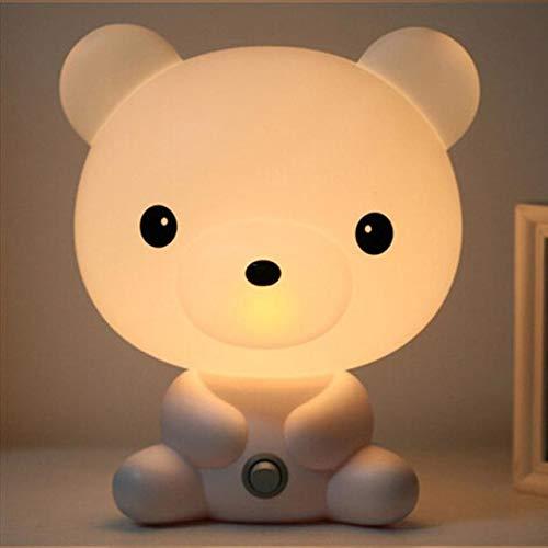 Panda Hond Beer Tekenfilm Nachtlichtje Kinderen Bed Lamp Nacht Slapen Lamp voor Kinderen Kamer Licht EU-stekker Baby Schattig Nachtlichtje